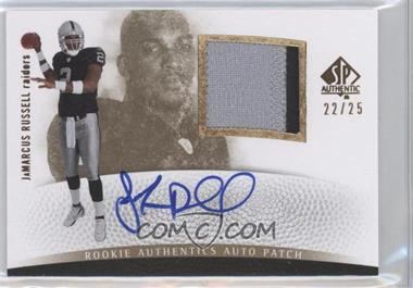 2007 SP Authentic - [Base] - Gold #292 - JaMarcus Russell /25