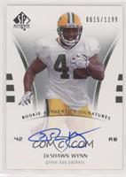 Rookie Authentics Signatures - DeShawn Wynn #/1,199