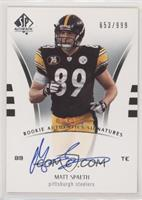 Rookie Authentics Signatures - Matt Spaeth [EXtoNM] #/999