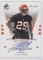 Rookie Authentics Signatures - Leon Hall #/399