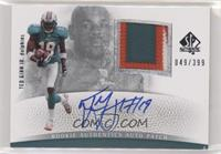 Rookie Authentics Auto Patch - Ted Ginn #/399