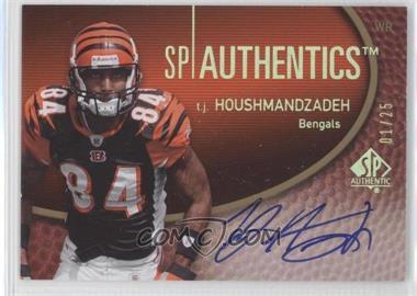 2007 SP Authentic - SP Authentics Autographs - Gold #SPAA-TH - T.J. Houshmandzadeh /25
