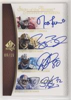 Matt Leinart, Reggie Bush, Dwayne Jarrett, Steve Smith /15