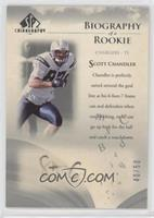 Scott Chandler [Poor to Fair] #/50
