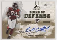 Jamaal Anderson #/99