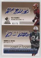 H.B. Blades, Darrelle Revis /75