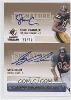 Scott Chandler, Greg Olsen /75