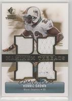 Ronnie Brown /50