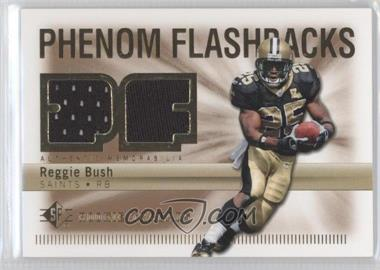 2007 SP Rookie Threads - Phenom Flashbacks #PHF-RB - Reggie Bush