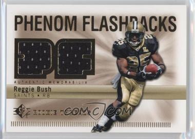2007 SP Rookie Threads - Phenom Flashbacks #PHF-RB - Reggie Bush