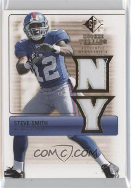 2007 SP Rookie Threads - Rookie Threads - Gold #RT-SS - Steve Smith