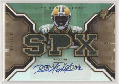 2007 SPx - [Base] - Rookies Gold #194 - Brandon Jackson /199