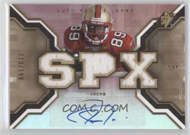 2007 SPx - [Base] - Rookies Gold #203 - Jason Hill /199