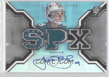 2007 SPx - [Base] #202 - John Beck /599