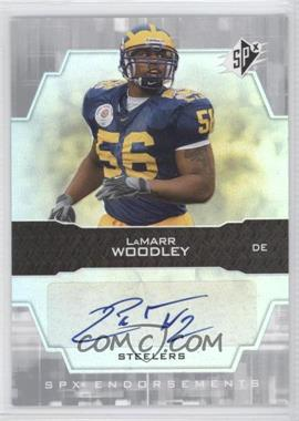 2007 SPx - Endorsements #EN-LW - LaMarr Woodley