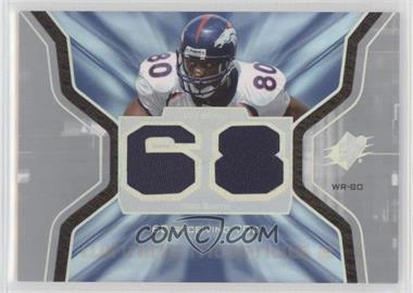 2007 SPx - Winning Materials - Stats Dual #WMS-RS - Rod Smith [Noted]