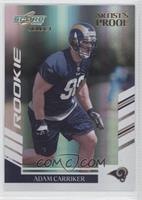 Adam Carriker #/32