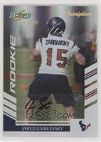 Jared Zabransky #/50