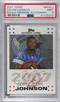 Calvin Johnson [PSA 9 MINT]