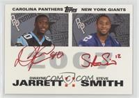 Steve Smith, Dwayne Jarrett