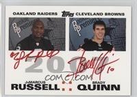 JaMarcus Russell, Brady Quinn