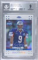 Tony Romo [BGS 9 MINT] #/869