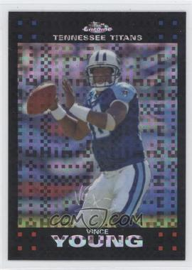 2007 Topps Chrome - [Base] - X-Fractor #TC119 - Vince Young