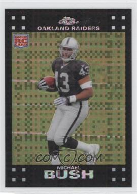 2007 Topps Chrome - [Base] - X-Fractor #TC184 - Michael Bush