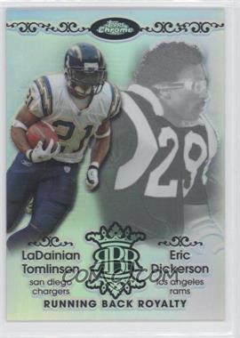 2007 Topps Chrome - Running Back Royalty - Refractor #RBRD-TD - Eric Dickerson /199