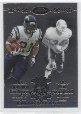 2007 Topps Chrome - Running Back Royalty #RBRD-TC - LaDainian Tomlinson, Earl Campbell