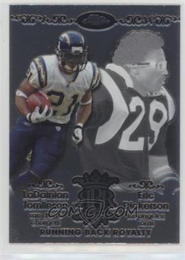2007 Topps Chrome - Running Back Royalty #RBRD-TD - LaDainian Tomlinson, Eric Dickerson