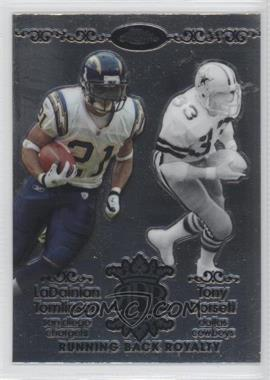 2007 Topps Chrome - Running Back Royalty #RBRD-TDO - LaDainian Tomlinson, Tony Dorsett