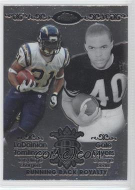 2007 Topps Chrome - Running Back Royalty #RBRD-TSA - LaDainian Tomlinson, Gale Sayers