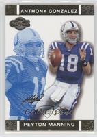 Peyton Manning, Anthony Gonzalez /349