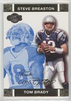 Tom Brady, Steve Breaston #/349