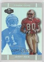 Jerry Rice, Frank Gore /99