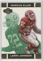 Larry Johnson, Marcus Allen #/249