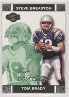 Tom Brady, Steve Breaston #/249