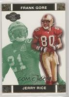 Jerry Rice, Frank Gore #/249
