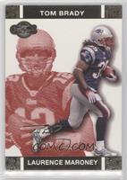 Laurence Maroney, Tom Brady #/399