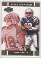 Tom Brady, Steve Breaston #/399