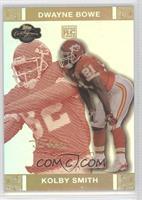 Kolby Smith, Dwayne Bowe #/50