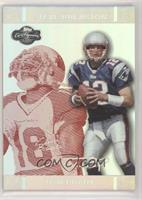 Tom Brady, Steve Breaston #/150