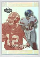 Eli Manning, Steve Smith #/150