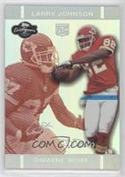 Dwayne Bowe, Larry Johnson #/150