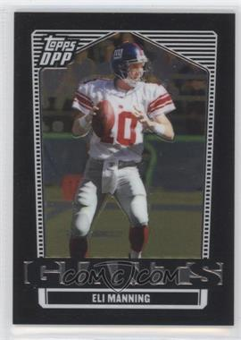 2007 Topps Draft Picks and Prospects (DPP) - [Base] - Chrome Black #48 - Eli Manning