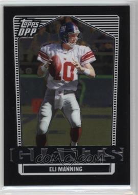 2007 Topps Draft Picks and Prospects (DPP) - [Base] - Chrome Black #48 - Eli Manning