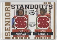 Earl Everett, Ray McDonald /199