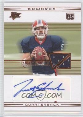 2007 Topps Performance - [Base] - Rookie Relic Autographs Bronze [Autographed] [Memorabilia] #101 - Trent Edwards /50