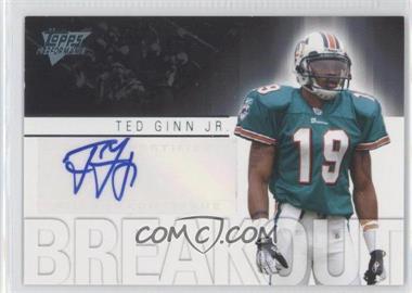 2007 Topps Performance - Breakout Autographs #BA-TG - Ted Ginn